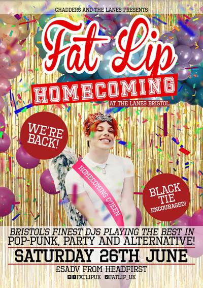 FAT LIP: Homecoming! at The Lanes in Bristol