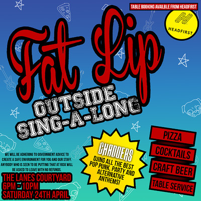 Fat Lip - Outside Sing-A-Long at The Lanes in Bristol