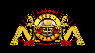 Father Funk's Church of Love: Nuns N Roses at The Lanes in Bristol