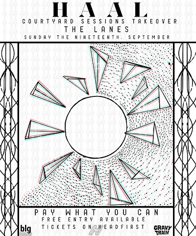 HAAL DJ Set - GravyTrain Courtyard Sessions at The Lanes in Bristol