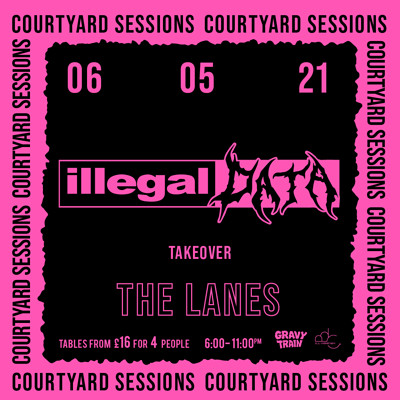 ILLEGAL DATA TAKEOVER (DJ Set) at The Lanes in Bristol