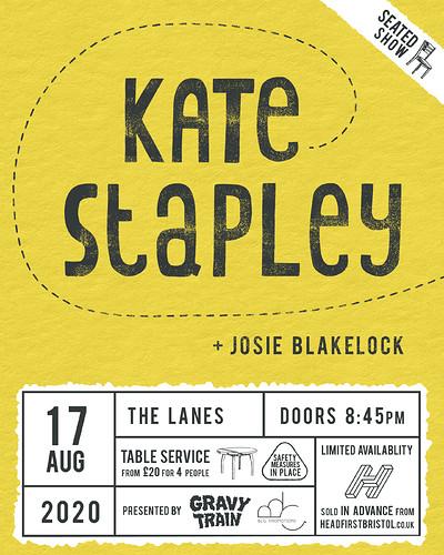 KATE STAPLEY + JOSIE BLAKELOCK (live) at The Lanes in Bristol