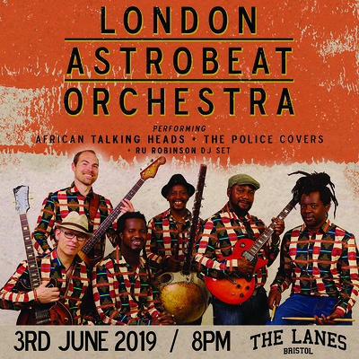 London Astrobeat Orchestra: African covers of.... at The Lanes in Bristol