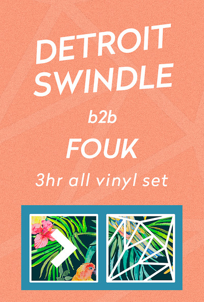 More Than's Summer Soirée w/ Detroit Swindle &Fouk at The Lanes in Bristol
