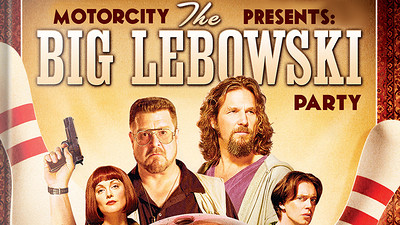 Motorcity Presents The Annual Big Lebowski Party at The Lanes in Bristol