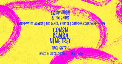 Oh My Rosh & Friends Courtyard Day Party at The Lanes in Bristol