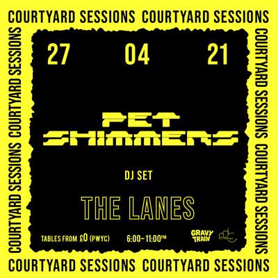 PET SHIMMERS (DJ Set) at The Lanes in Bristol