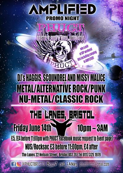 PHUCT - Bristol's Rock & Metal Alternative Amplifi at The Lanes in Bristol