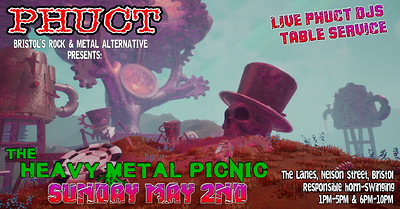 PHUCT - The Heavy Metal Picnic at The Lanes in Bristol