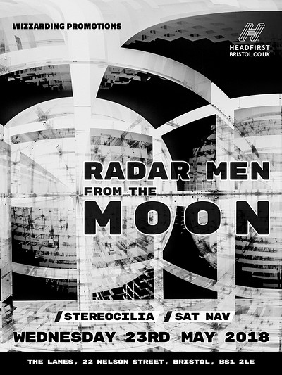 Radar Men From The Moon at The Lanes in Bristol