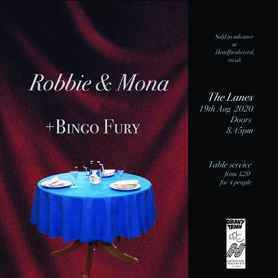 ROBBIE & MONA + BINGO FURY (live) at The Lanes in Bristol