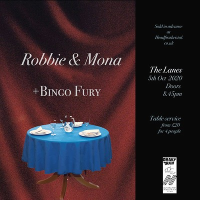 ROBBIE & MONA + BINGO FURY (SOLD OUT) at The Lanes in Bristol