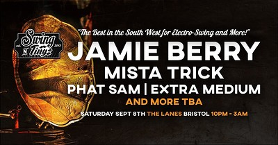 Swing'n'tingz 21: Jamie Berry and more at The Lanes in Bristol