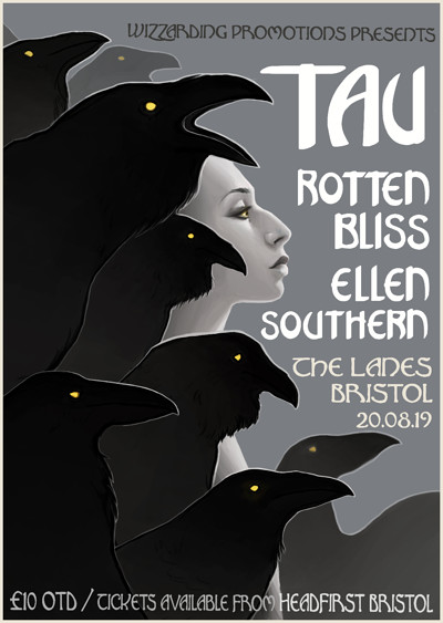 TAU + Rotten Bliss + Ellen Southern + EDS at The Lanes in Bristol