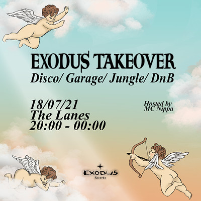 The Lanes: Exodus Records Takeover  at The Lanes in Bristol
