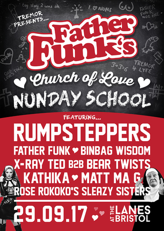 Tremor presents Father Funk's Church of Love at The Lanes in Bristol