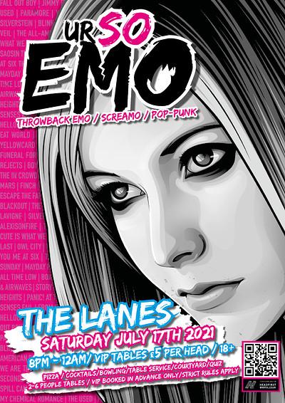 Ur So Emo at The Lanes in Bristol
