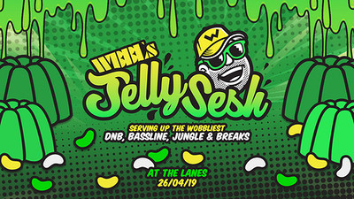 WBBL's Jelly Sesh: A.Skillz / Dutty Moonshine b2b at The Lanes in Bristol