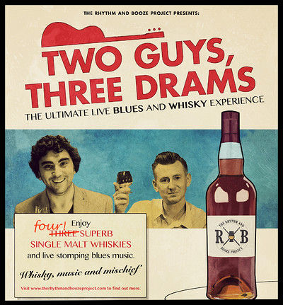 Two Guys Three Drams: Live Blues & Whisky Tasting at The Lightship Theatre in Bristol