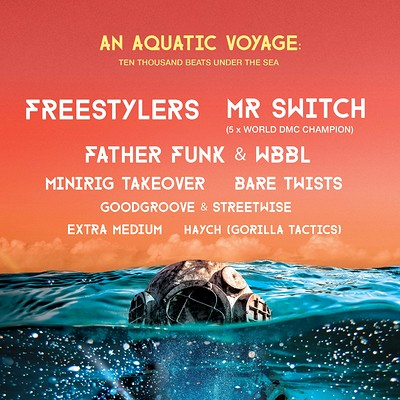 An Aquatic Voyage:Ten Thousand Beats Under The Sea at The Loco Klub in Bristol
