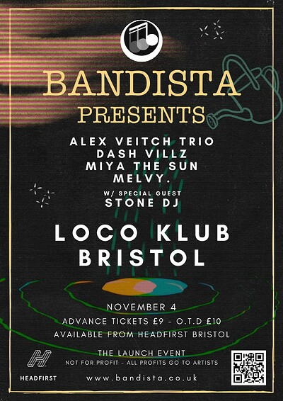 Bandista Presents - Launch Party at The Loco Klub in Bristol