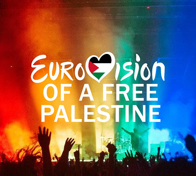 EuroVision of a Free Palestine at The Loco Klub in Bristol