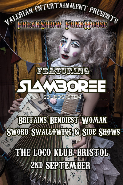 FreakShow FunkHouse Featuring Slamboree at The Loco Klub in Bristol