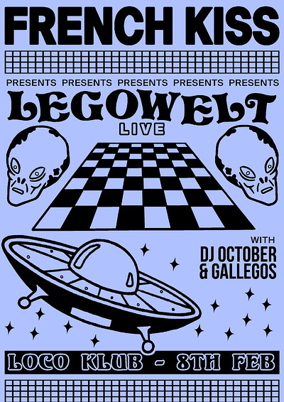 French Kiss presents: Legowelt (Live) / DJ October at The Loco Klub in Bristol