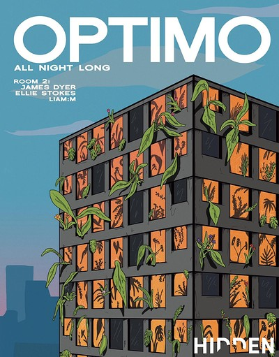 Hidden   Optimo   Sold out   tickets on the door at The Loco Klub in Bristol