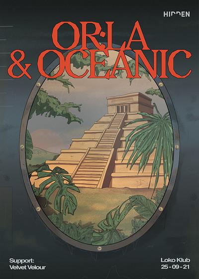 Hidden: Or:la & Oceanic at The Loco Klub in Bristol