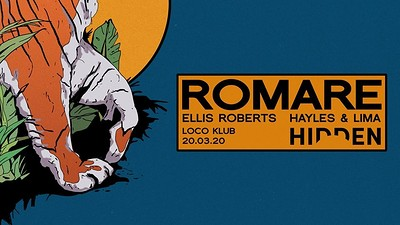 Hidden | Romare (Rescheduled due to COV-19) at The Loco Klub in Bristol