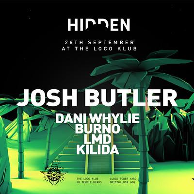 Hidden's Lost City with Josh Butler at The Loco Klub in Bristol