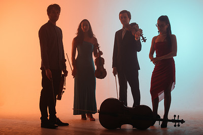 Ligeti Quartet: String Quartet No. 3 In iij. Noct at The Loco Klub in Bristol