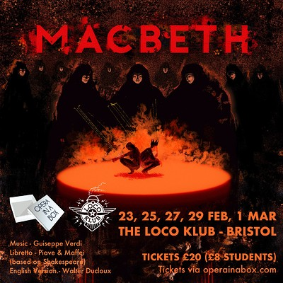 Macbeth at The Loco Klub in Bristol