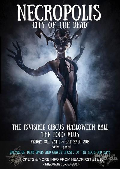 Necropolis - City of The Dead at The Loco Klub in Bristol