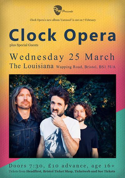 Clock Opera at The Louisiana in Bristol