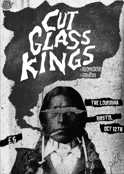 Cut Glass Kings, Insomnichord & Hush Mozey at The Louisiana in Bristol