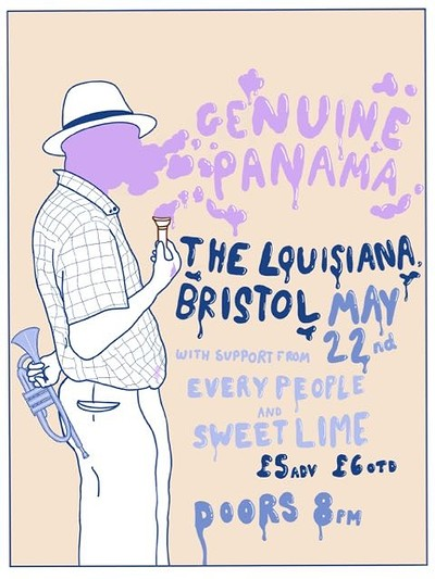 Genuine Panama with EveryPeople and Sweet Lime at The Louisiana in Bristol