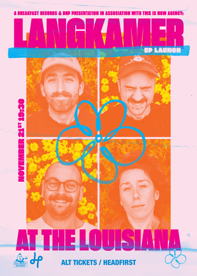 Langkamer Live at The Louisiana at The Louisiana in Bristol