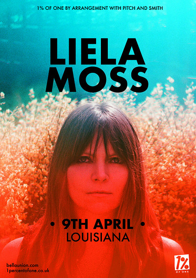Liela Moss at The Louisiana in Bristol