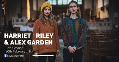 Louisiana Live Session : Harriet Riley&Alex Garden at The Louisiana in Bristol