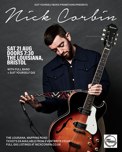 NICK CORBIN PLUS FULL BAND at The Louisiana in Bristol