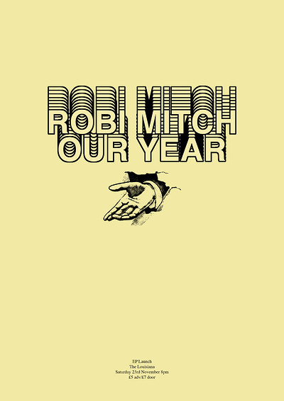 Robi Mitch (full band) + Jamie Cruickshank (solo) at The Louisiana in Bristol