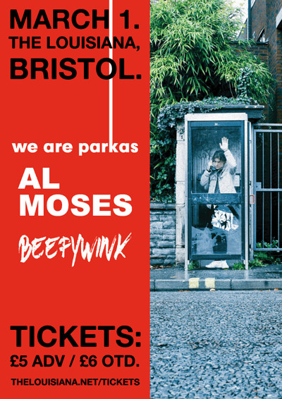 We Are Parkas + Al Moses & Beefywink - 01/03/19 at The Louisiana in Bristol