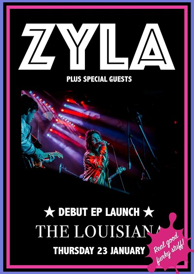 ZYLA EP Launch + VOLEE + Sol Feo at The Louisiana in Bristol