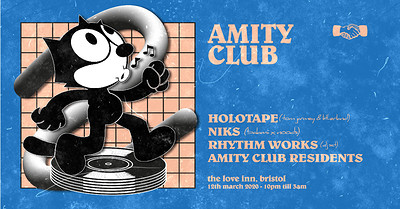 Amity Club [001] - Initial Contact at The Love Inn in Bristol
