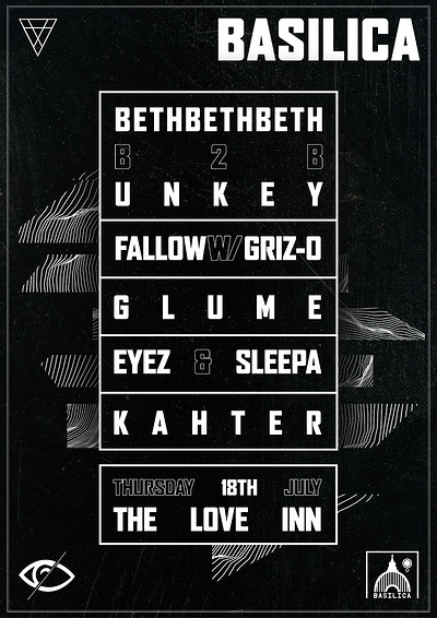 Basilica Presents - Bethbethbeth, Unkey +more at The Love Inn in Bristol