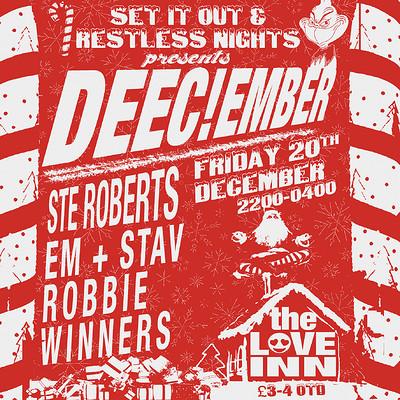 DEEC!ember w. Ste Roberts at The Love Inn in Bristol