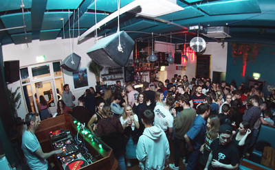 Double Vision: 1st Birthday Party at The Love Inn in Bristol