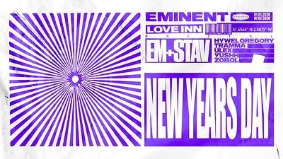 Eminent NYD w/ Em + Stav & Ellie Stokes at The Love Inn in Bristol